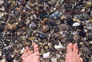 Ocean feet  Herring Cove
